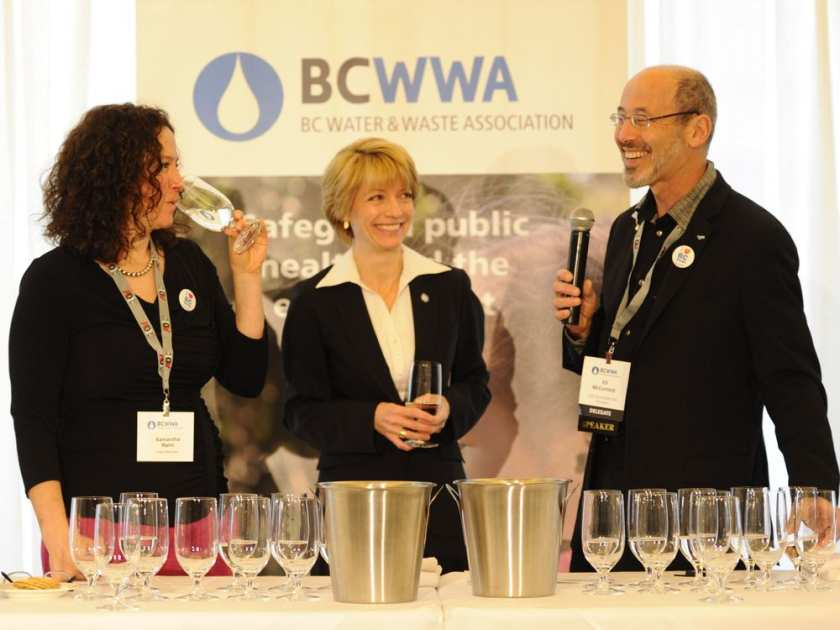Water challenge judges favour Hope's taste in tap water